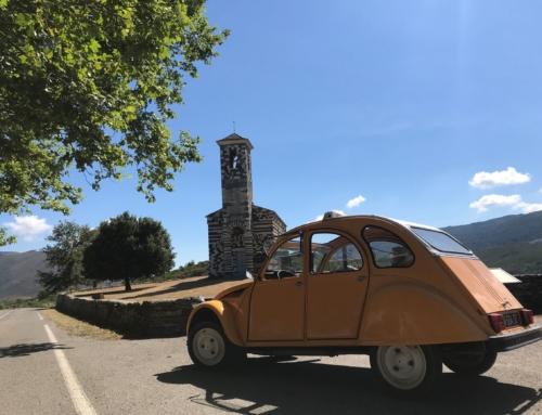 Découvrez la Corse au volant d'une 2 CV